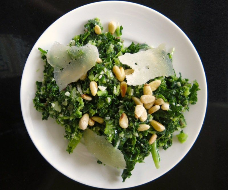 1 Kale and Pinetip Salad