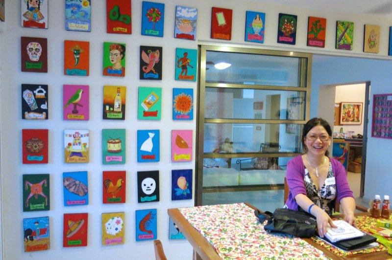 113 Jenny in Folk Art Kitchen