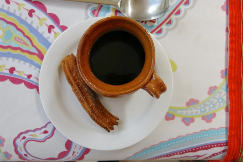 12 Mexican Coffee and Churro