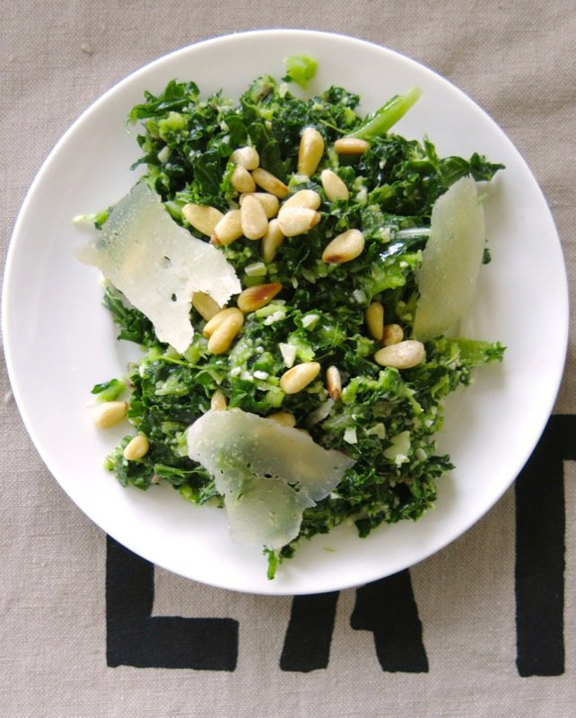 17 Kale and Pinetip Salad