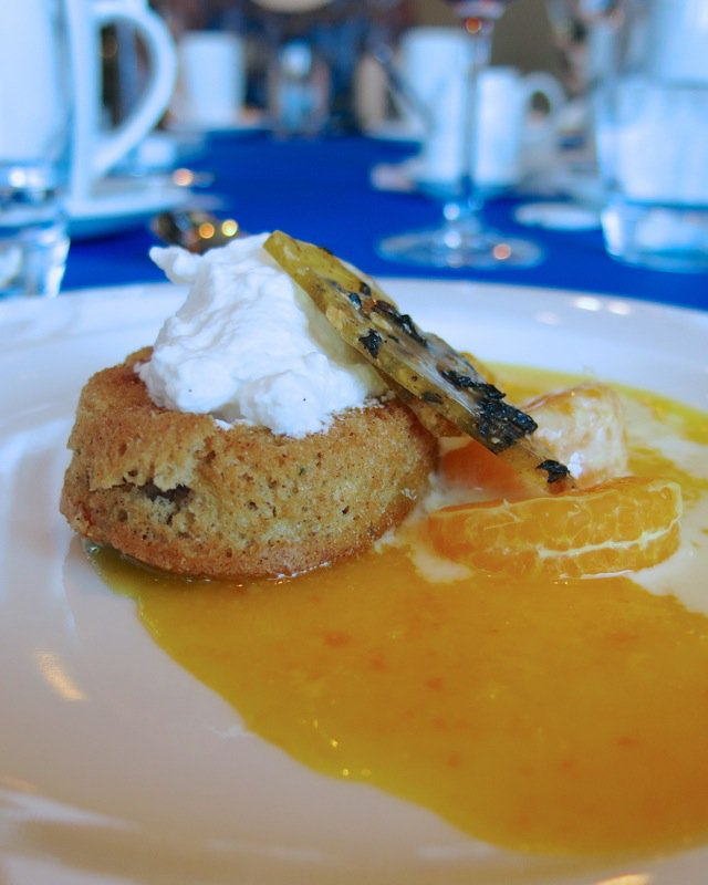 18 Zucchini Olive Oil Cake with Olive Brittle NAIT