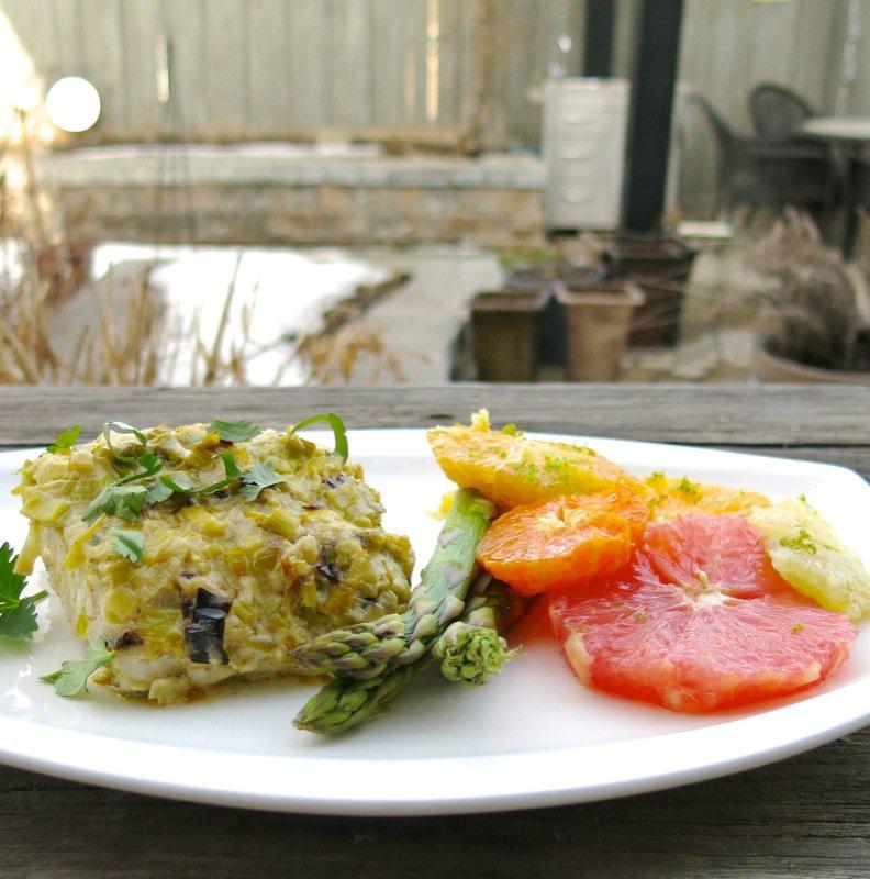 2 Sablefish with Citrus Salad