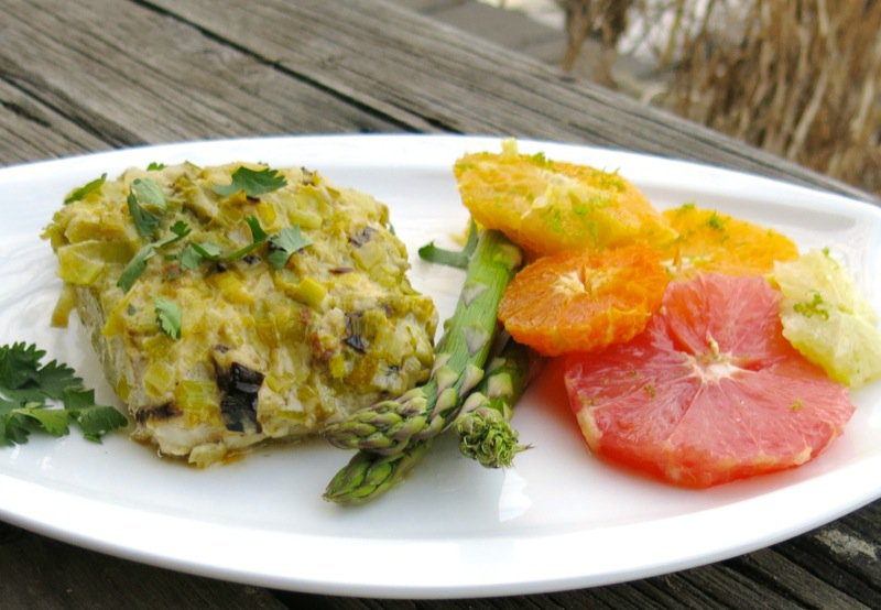 23 Sablefish wih Citrus Salad