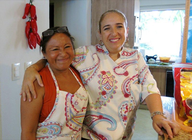 26 Maria and Chef Claudia