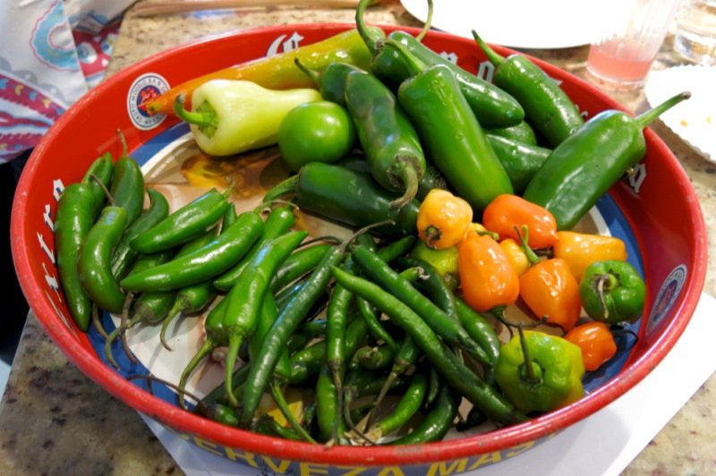 32 Mexican Peppers
