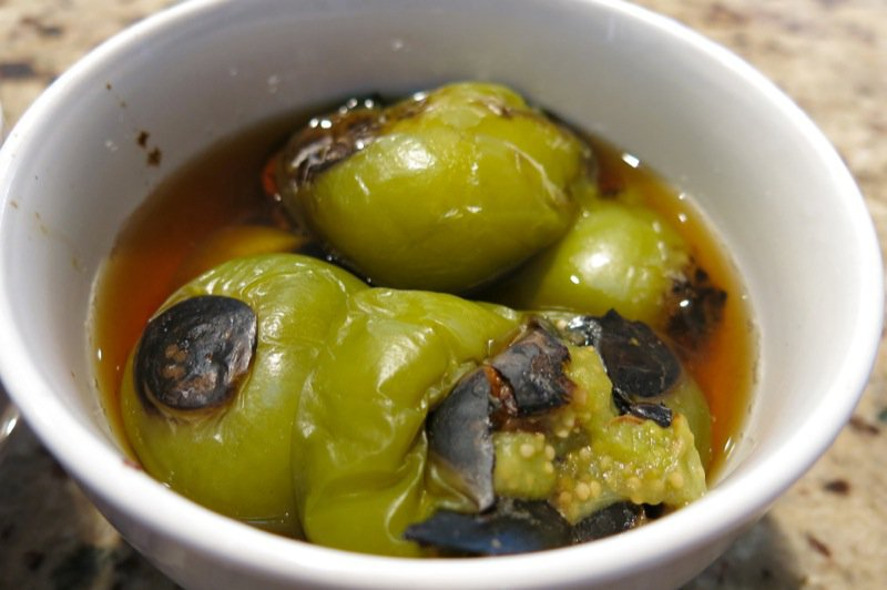 34 Charred Tomatilla