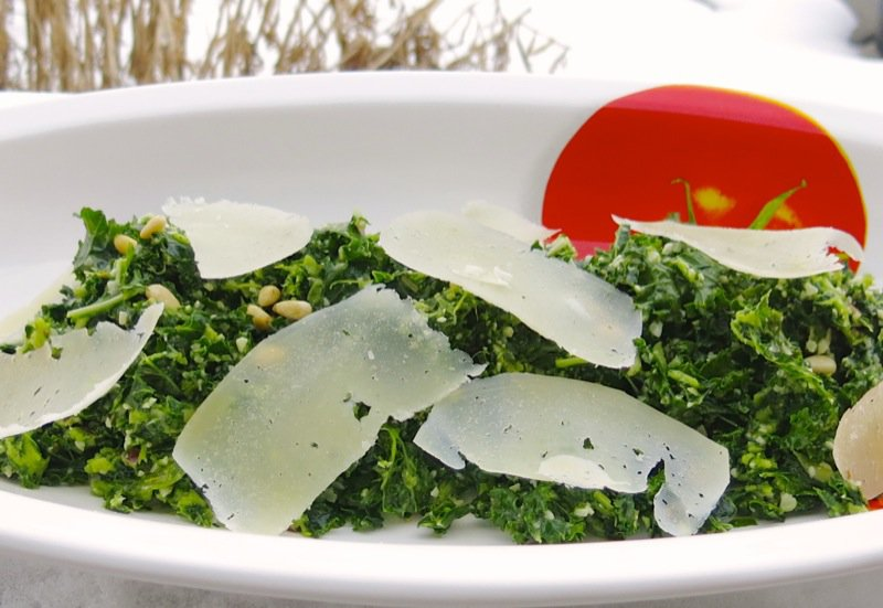 4 Kale and Pinetip Salad