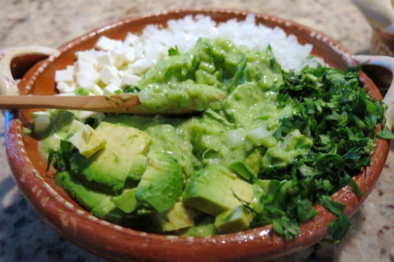 44a Guacamole Salsa mixed
