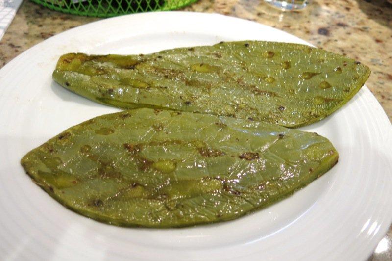 45 Fried Nopal Cactus