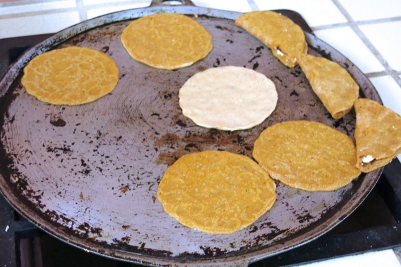 48 Empanada Shells Cooking on the Komal