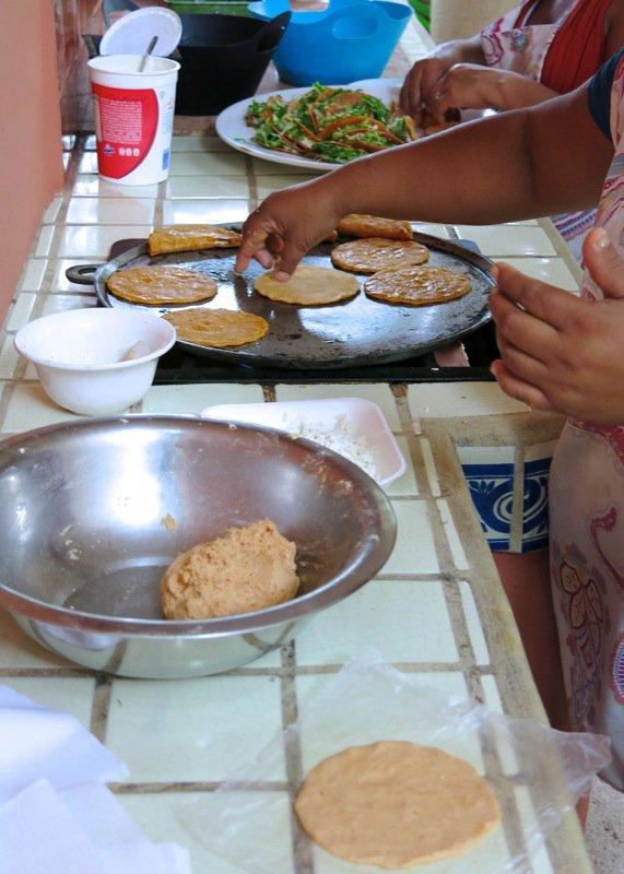 49 Gals making empanadas 2