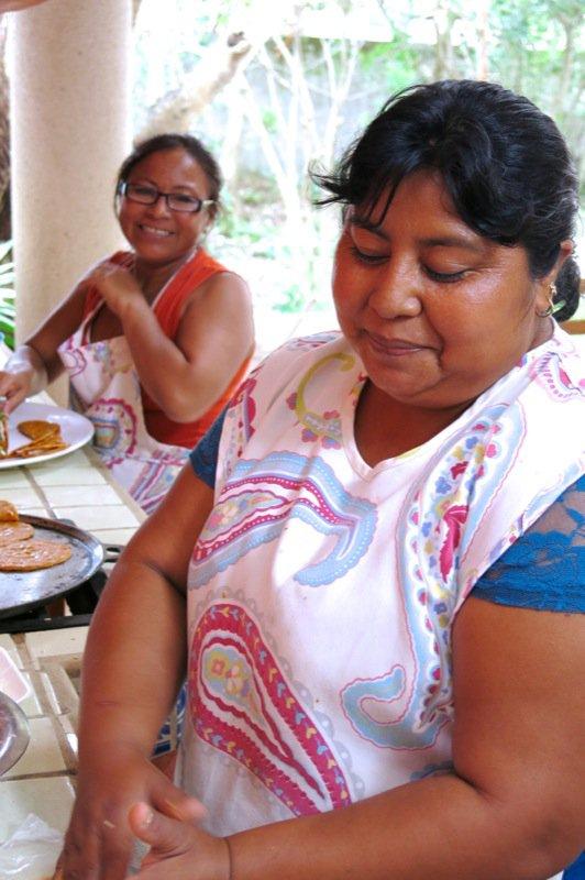 51 Gals making empanadas