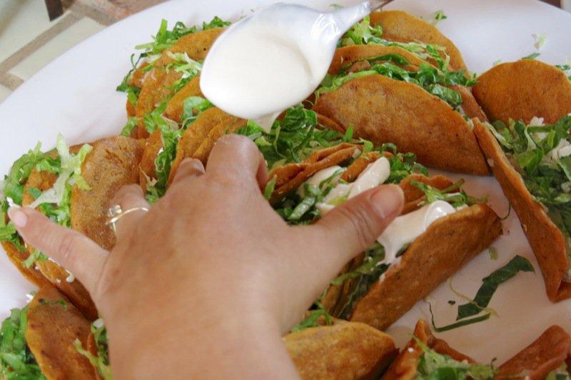 52 Gals making empanadas 4