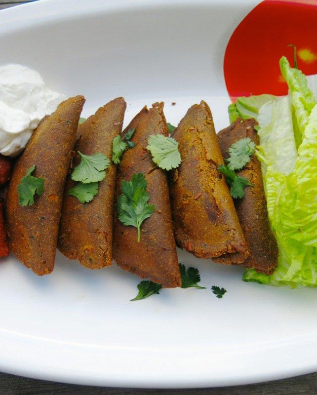 Enchiladas Potosi Style or Enchiladas Potosinas