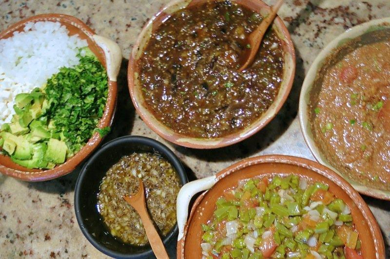 53 Five Mexican Salsas