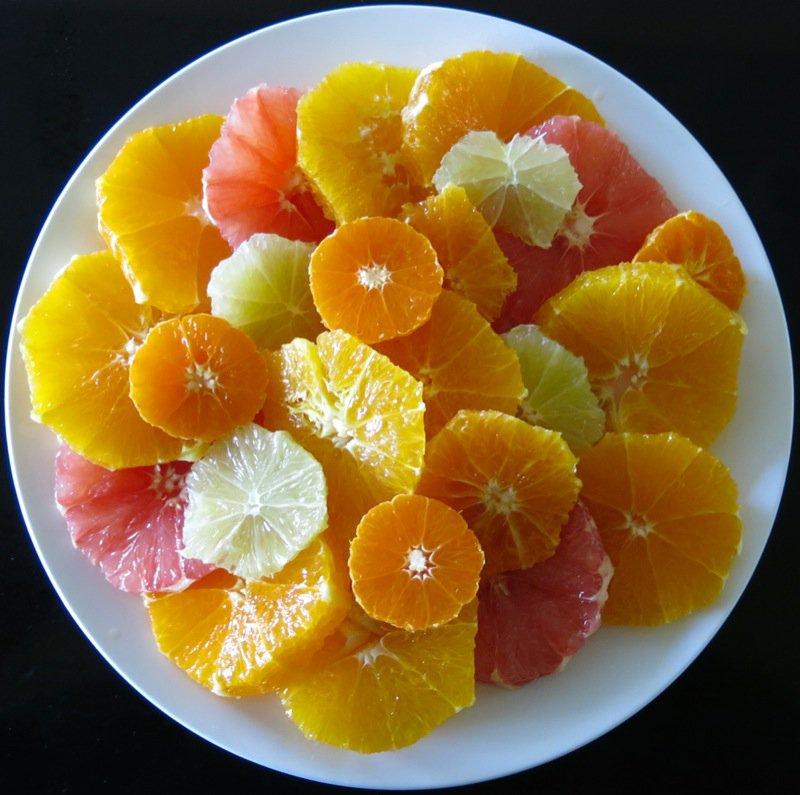 Simple Citrus Salad