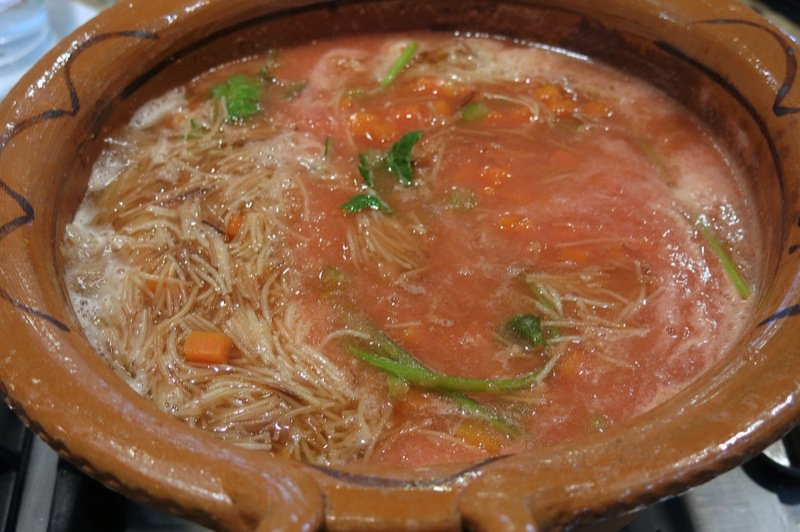 78 Mexican Tomato Corn Vermicelli Soup