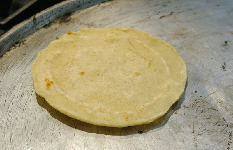 91 When a Tortilla is cooked
