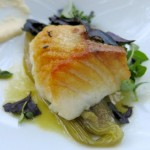Black Cod or Wild Sablefish with Coconut Milk and Lime