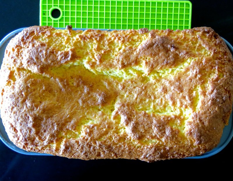 8 Thermomix Orange Sunkist Cake Baked