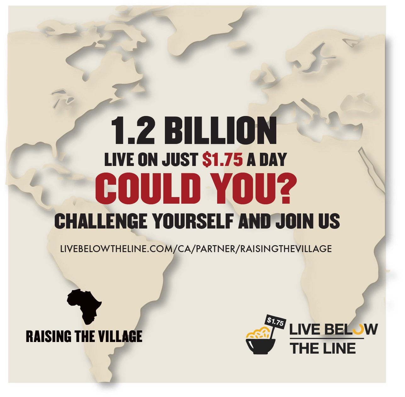 The Global Poverty Project: Live Below the Line Challenge