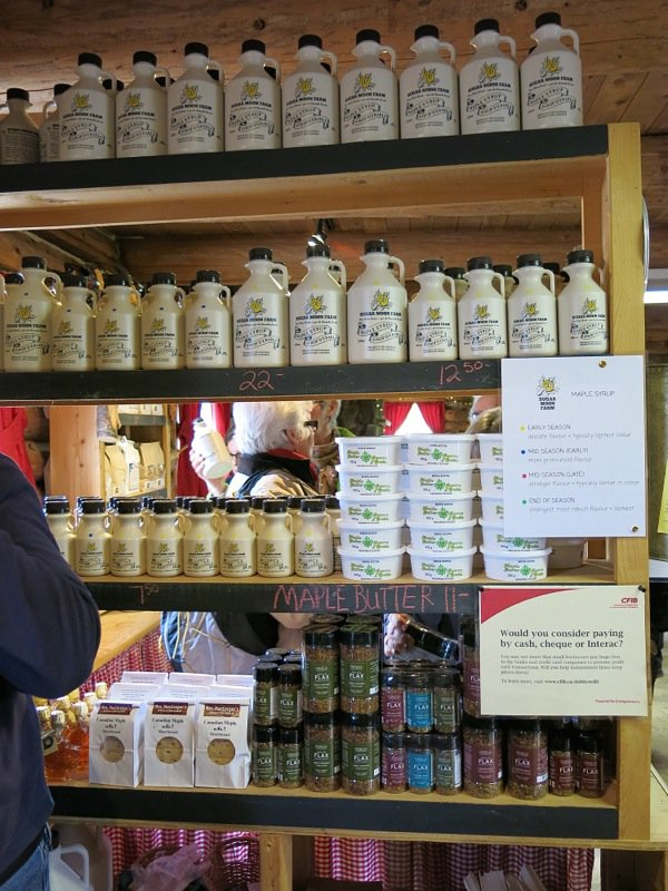 Lunch at Sugar Moon Farm: Maple Syrup Heaven