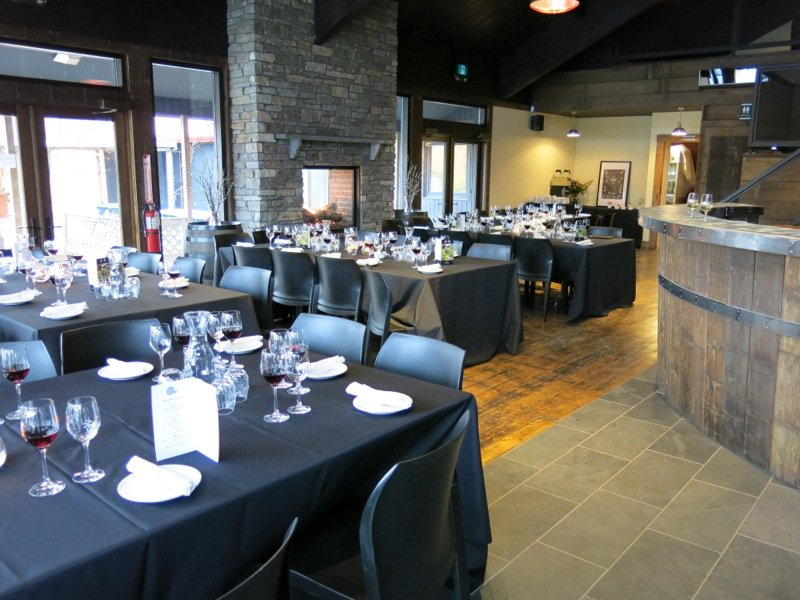 Dinner at Jost Winery with Chef Chris Aerni