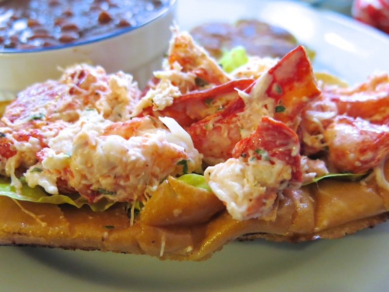 Lobster Rolls and Fish Cakes