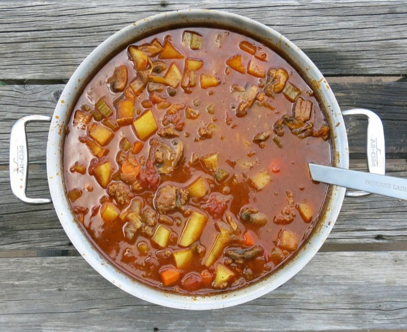 1 Hamburger Harvest Soup