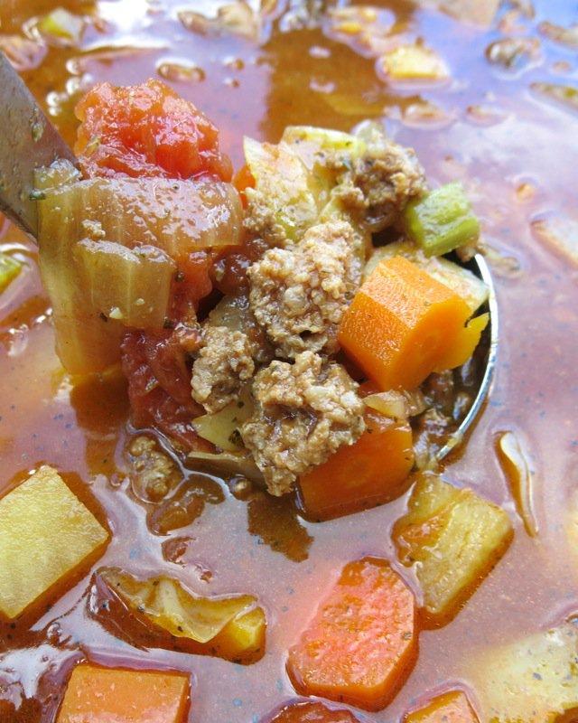 21 Hamburger Harvest Soup
