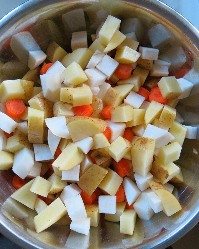 9 Hamburger Harvest Soup