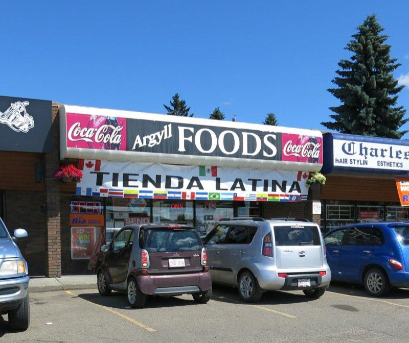 2 Argyll Foods  La Tienda Edmonton