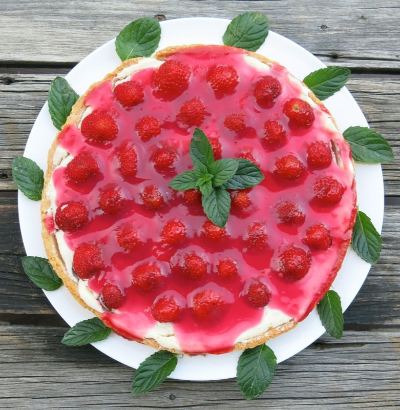 27 French Strawberry Tart