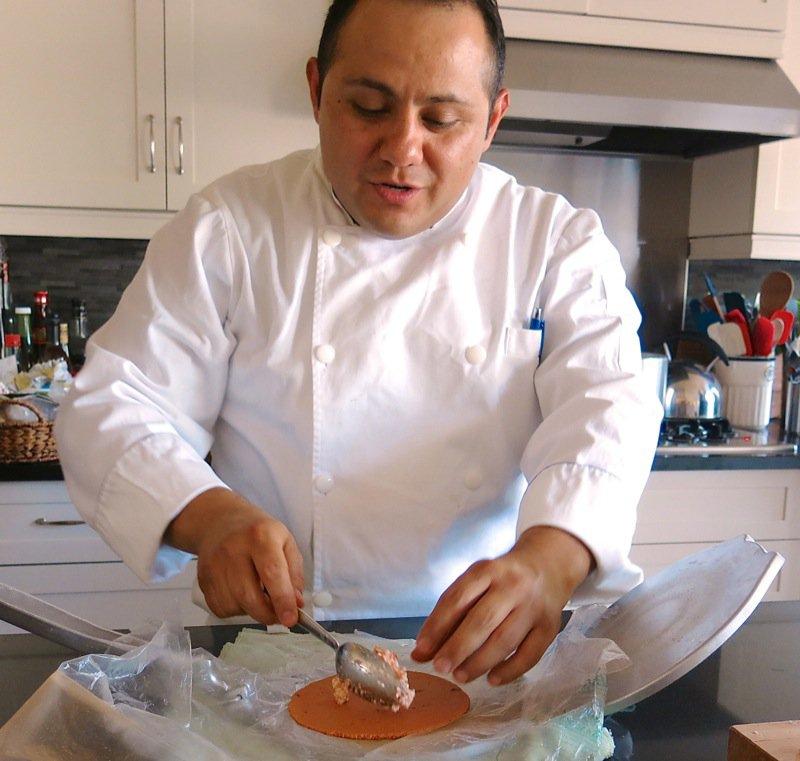 43 Enchiladas Potosinas Chef Hugo Raya