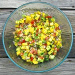 Tropical Salsa: Pico de Gallo all Dressed Up for a Party