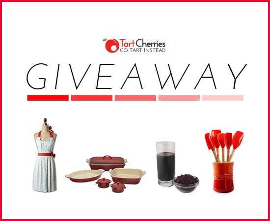 Tart Cherries - Taste Giveaway