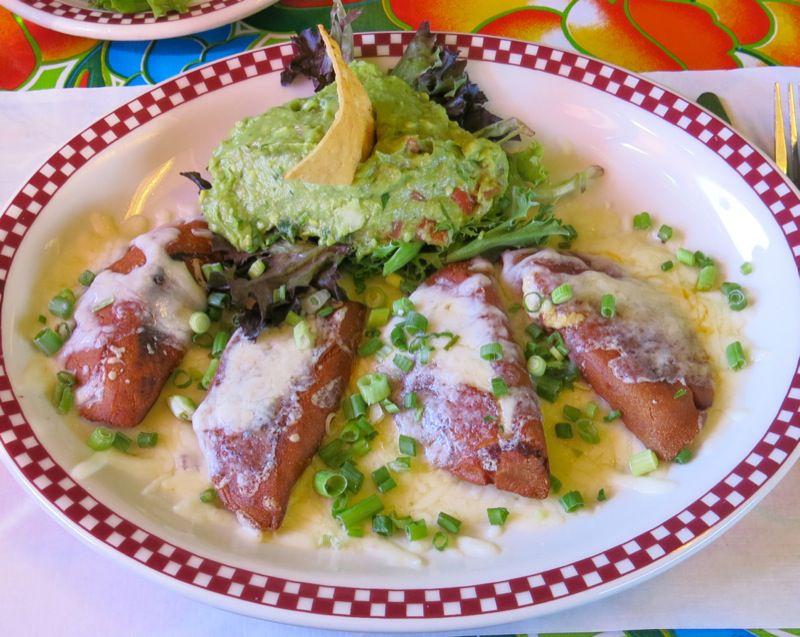 15 Red Iguana Enchiladas Potosinas