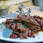 1a Sour Cherry Ginger Beef