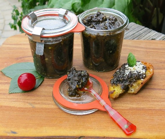 2 Sour Cherry Pesto