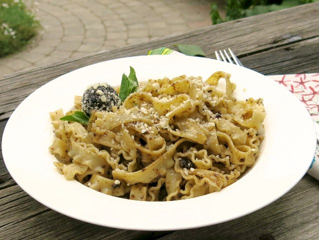 27 Sour Cherry Pesto Pasta