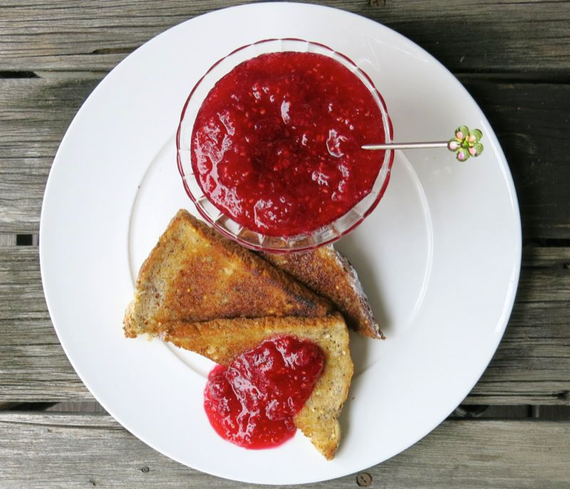 6 Raspberry Freezer Jam