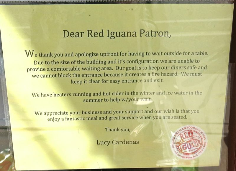 7 Red Iguana Salt Lake City