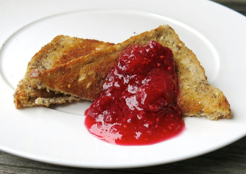8b Raspberry Freezer Jam