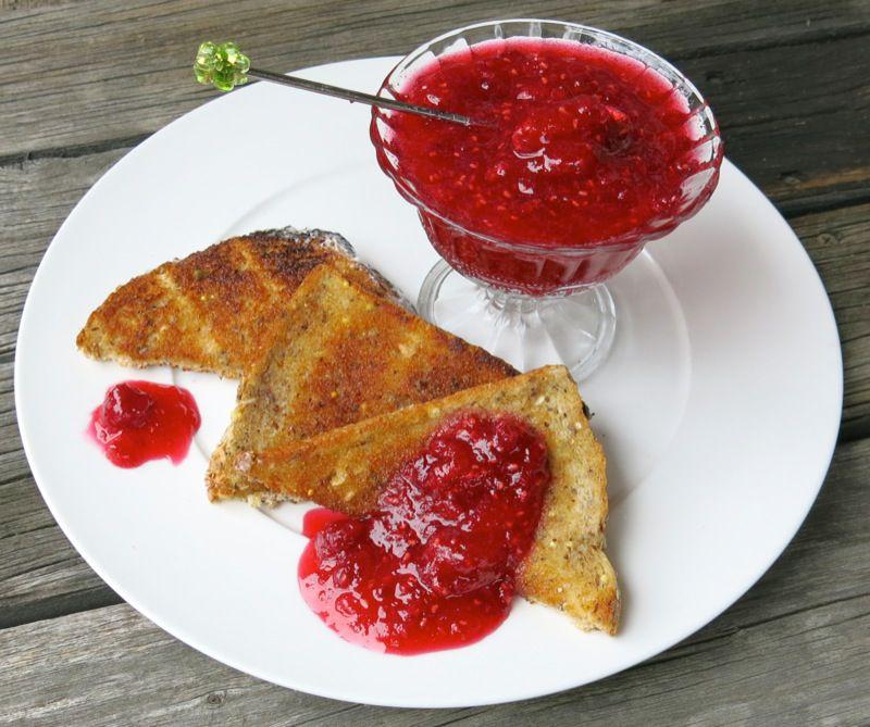 9 Raspberry Freezer Jam