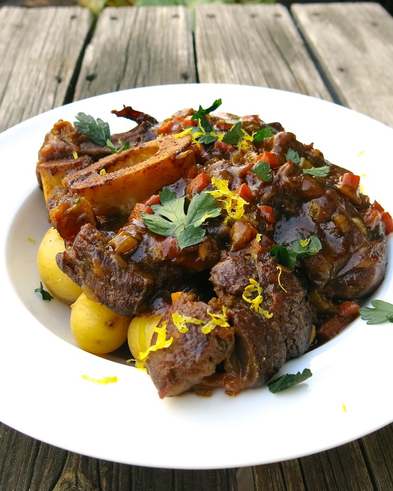 16 Osso Buco with Veal Jus