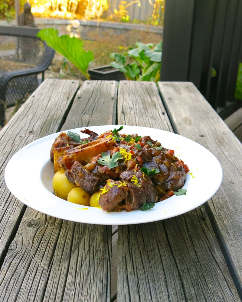 2 Osso Buco with Veal Jus