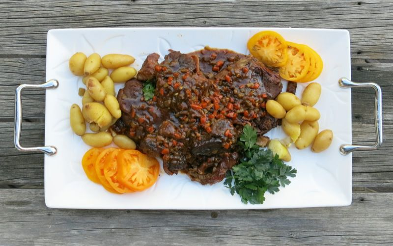 3 Osso Buco with Veal Jus