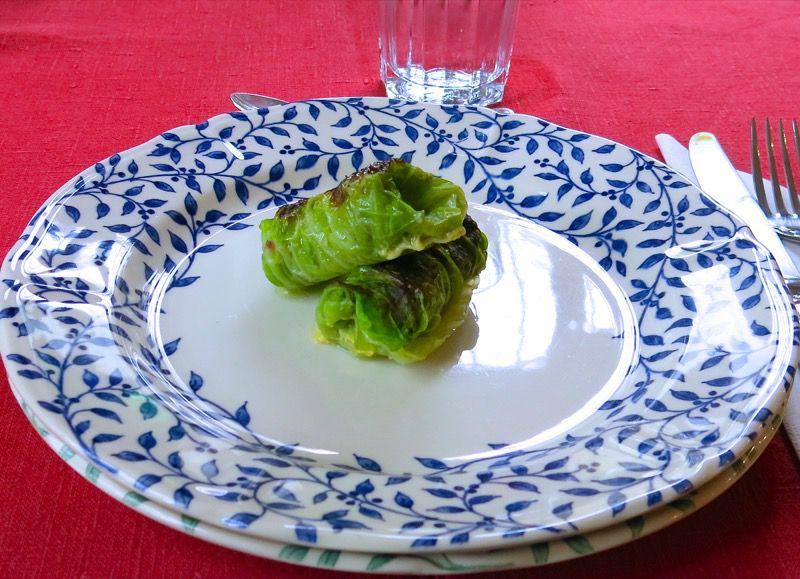 1 Caponet Piemontese Cabbage Rolls
