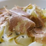 1 Fresh Pasta with White Alba Truffles