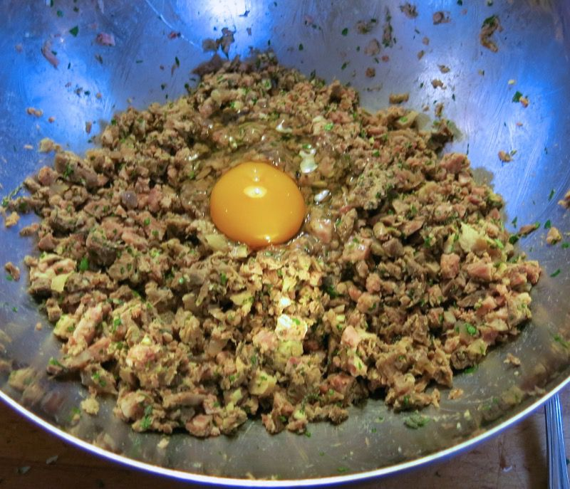 13 Caponet Piemontese Cabbage Rolls
